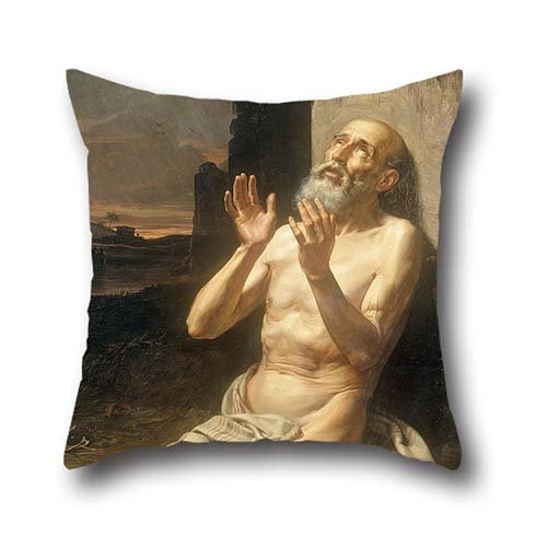 Slimmingpiggy Comfortable Bedding A Desperate Man 20X20 Inch Pillow Case