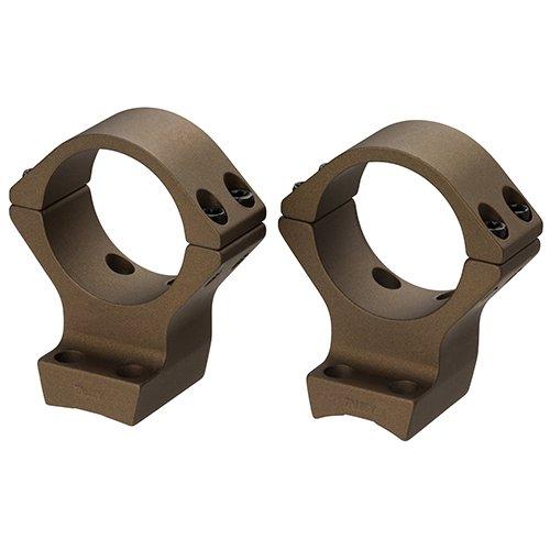 Browning 12532 x-Boltx 40mm Rings, 1'' Intermediate, Burnt Bronze Cerakote by Browning
