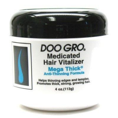 DOO GRO Hair Vitalizer Mega Thick , 4 oz (Pack of 6)
