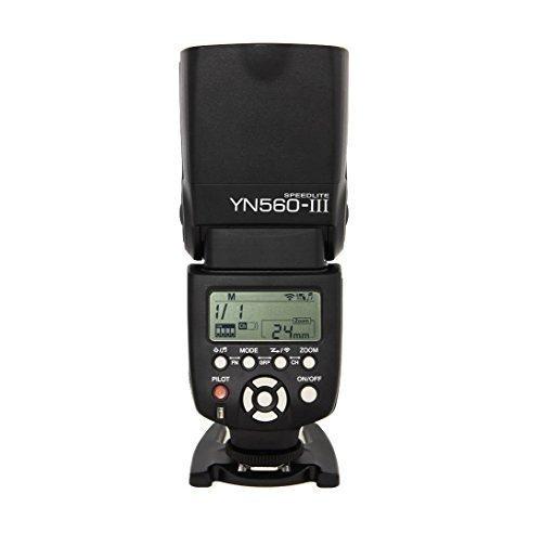 Yongnuo YN560 III Flash Speedlight for Canon Nikon Pentax Olympus with WINGONEER