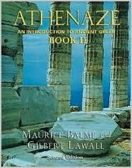 Athenaze 2nd (second) edition Text Only