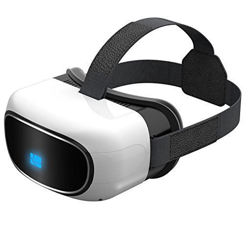 VN Tech VR All in one Virtual Reality 3D Glasses, Android 5.1 1G/8G HDMI 1280720HD Video Movie Game with Wifi Bluetooth Support TF Card