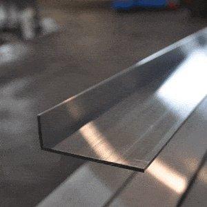 perfil a L aluminio 6060t6/mm 50/x 30/x 5/Longitud = 0/metros