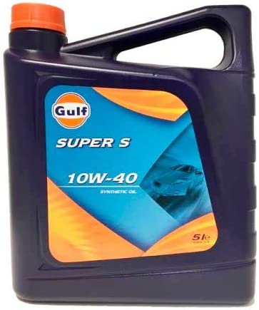 Gulf Super S 10W40 5 litros. Aceite sintético de la más alta ...