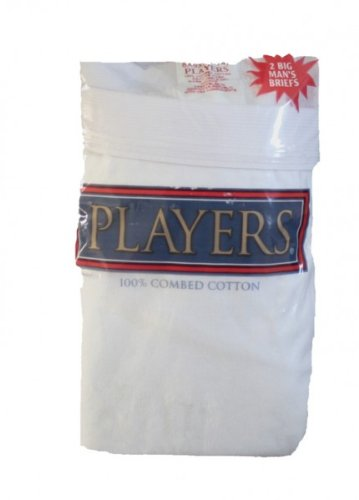 PLAYERS Extended Sizes Briefs - 2 Pair/Package #101