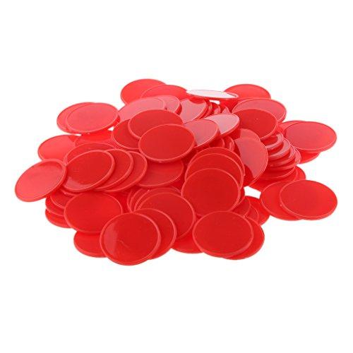 Magideal 300x 32mm Gioco Di Carte Da Poker Chip Contatori Per Gettoni Casinò Gioco Da Tavolo