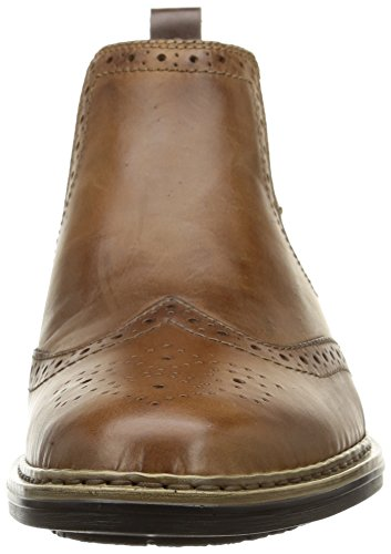 Stivaletto Marrone Rioker Uomo Brogue Marrone (37681-25) Braun