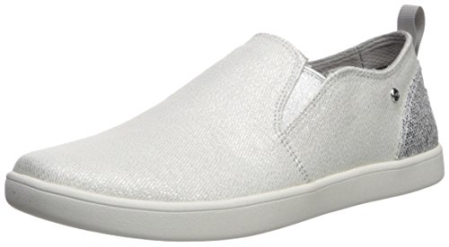 UGG Girls K Gantry Sparkles Sneaker, Silver, 1 M US Little Kid