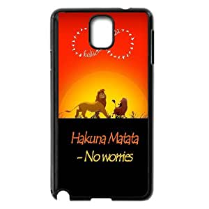 High quality Hakuna Matata-Lion King quotes series protective case cover For Samsung Galaxy NOTE3 Case CoverHQV479693270