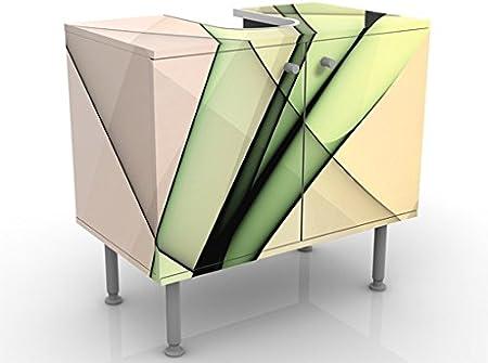 Meuble sous Vasque Design Inspiration 60x55x35cm, Petit, 60 ...