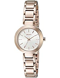 DKNY Women's NY2400 STANHOPE Analog Display Analog Quartz Rose Gold Watch