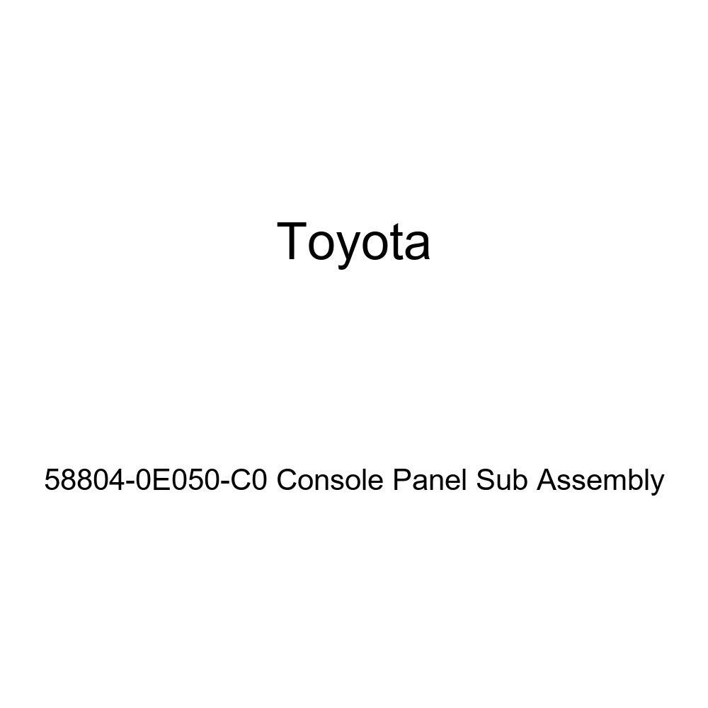 TOYOTA Genuine 58804-0E050-C0 Console Panel Sub Assembly