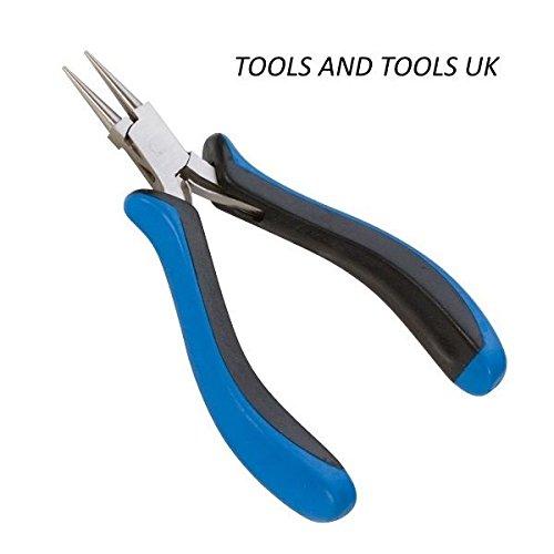 de alta calidad Alicates de punta redonda ergon/ómicos para joyas y artesan/ías con alambre 127/mm