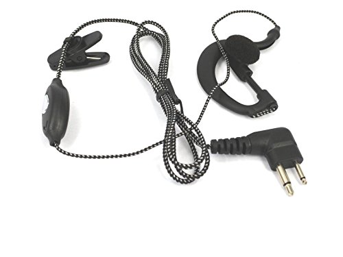 FYL Headset earpiece for Motorola radio CP88,CP040.CP100,CP125,CP150,CP200,CP250 300 ()