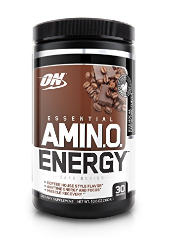 Optimum Nutrition Amino Energy With Green Tea And Green Coffee Extract  Flavor  Iced Mocha Cappucino  30 Servings
