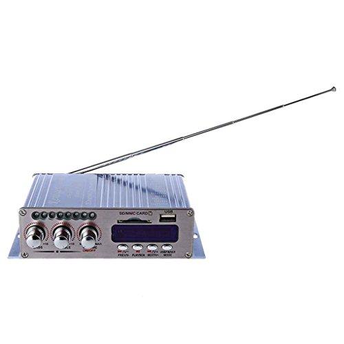 Mengonee Kentiger HY-502S 2CH Président Bluetooth Salut-Fi Super Bass puissance stéréo Amplificateur numérique USB/carte SD Lecteur Radio FM