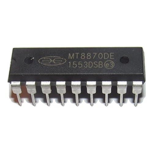 10PCS MT8870 MT8870DE CMOS LOW POWER DTMF DECODER RECEIVER