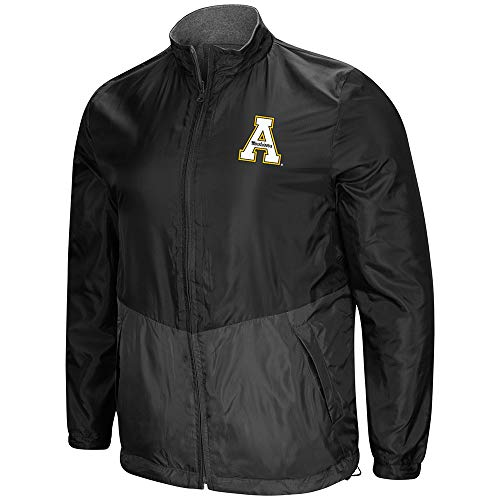 (Colosseum Appalachian State Mountaineers Reversible Polar Fleece/Rain Jacket (XL))