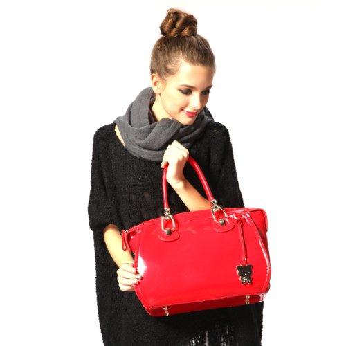Yippydada Bella - Bolso cambiador, color rojo