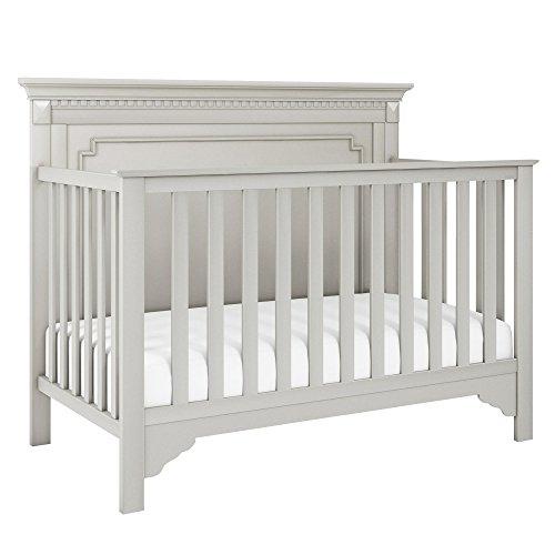 Baby Relax Teri 5-in-1 Convertible Crib, Soft Gray