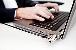 Kensington K64637WW ClickSafe Keyed Laptop Lock for Business
