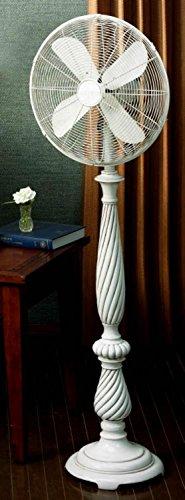 (DecoBREEZE Pedestal Fan 3 Speed Oscillating Fan, 16 In, Providence)