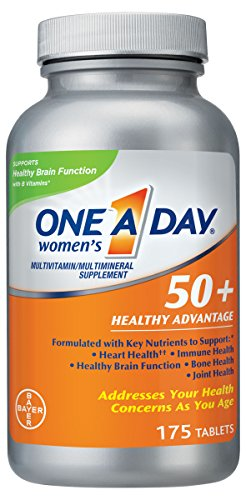 One A Day Women's 50+ Healthy Advantage Multivitamin Multimineral Supplement Tablets, 175 Count Review