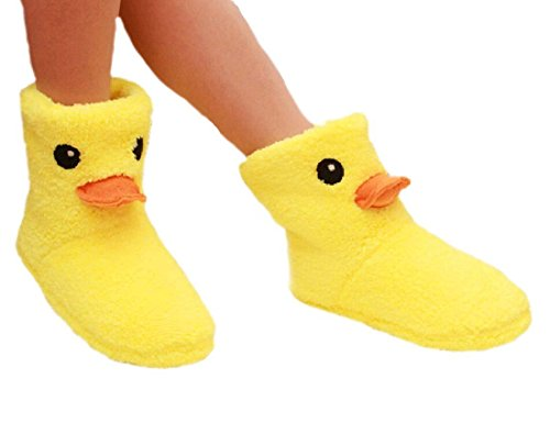 Duck Slippers 7 for Lovely B Slippers B Warm Women Winter 9 dqxxU5B