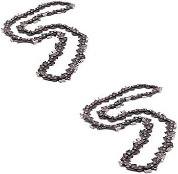 Cadena de motosierra Timberboss, semicuadrada, 3/8 pulgadas, LP.050 (1,3 mm), 50 entrenadores, longitud: 14 pulgadas / 35 cm