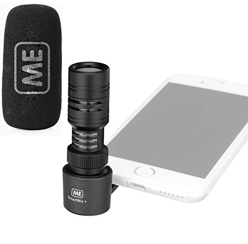 ME Directional TRRS Microphone for Smartphone  External iPhone iOS, Android Cell Phone Mic for Recording