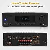 5.2-Channel Hi-Fi Bluetooth Stereo Amplifier - 1000