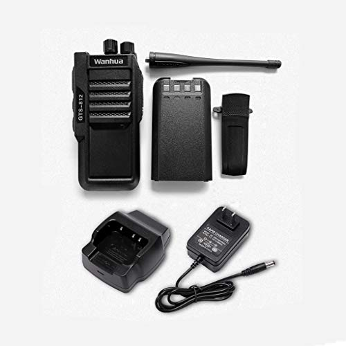 Nelc5kl Walkie Talkies Rechargeable Long Range Two-Way Radios with UHF 403-480Mhz Walkie Talkies 1800 mAh Li-ion Battery and Charger Included Radio (Size : E) by Nelc5kl (Image #3)