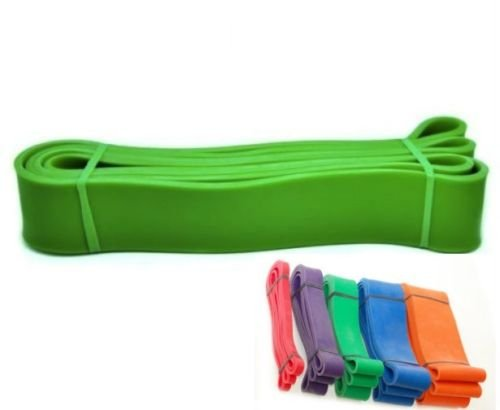 Treadlife Fitness Assisted Pull up Bands – Crossfit – Choose Your Size (Green – 1 3/4″ – (50-120lbs)) For Sale
