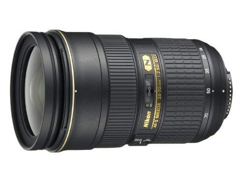 Nikon AF-S FX NIKKOR 24-70mm f/2.8G ED Zoom Lens with Auto Focus for Nikon DSLR Cameras (Renewed) (Nikkor 24 70mm F 2-8 G Ed)
