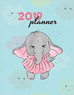 2019 Planner Weekly Dated With Inspirational Quotes Pretty Little