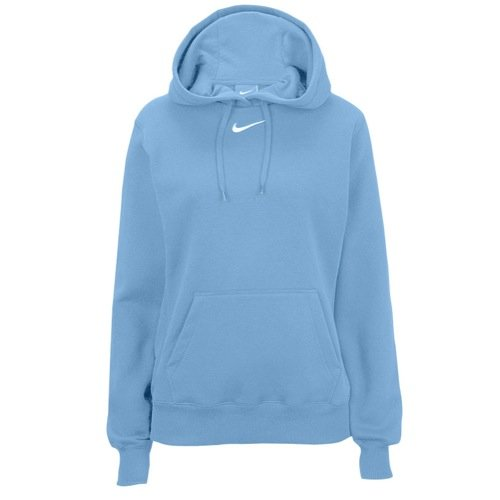 Nike Womens Club Fleece Hoody - Columbia Blue - XS