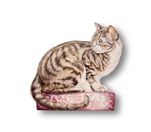- Stupell Home Décor Tabby Cat Decorative Dog Door Stop, 17 x 0.5 x 15, Proudly Made in USA