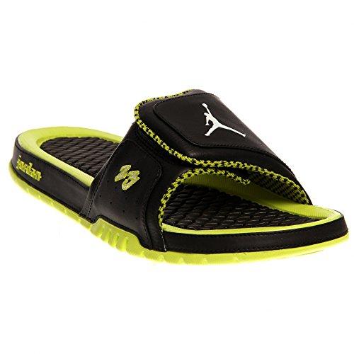 cd41a8460832 Nike Jordan Hydro 2 Premier Men Slide Black Venom Green White 456524-033  (SIZE  13) - Buy Online in Oman.