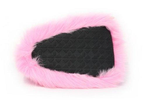 Monster Hausschuhe für Männer und Frauen: Kuriose Pink Monster Kralle Tier Hausschuhe