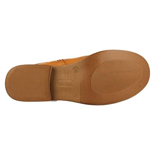 Rieker95678 - botas de caño alto Mujer Tan (Cayenne)