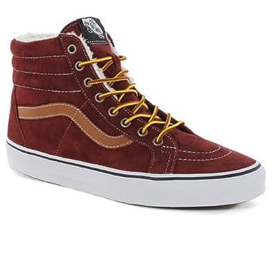8408888ec883d8 Vans Sk8-Hi Reissue Shoes - (Pig Suede Fleece) Andorra  Amazon.co.uk  Shoes    Bags