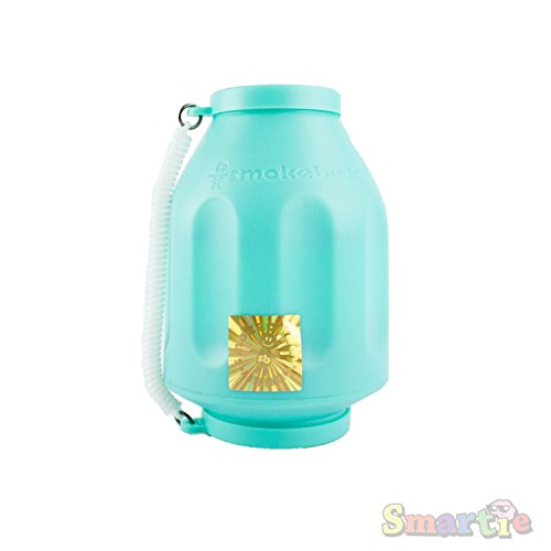 Smoke Buddy Original Personal Air Filter Bundle, All Colors + HoneyCombz Silicone Container, Random Color (Teal)