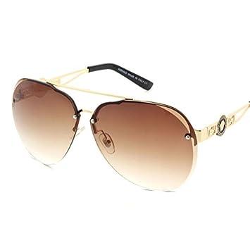 liyongdong sin marco Gafas de sol se moda caja grande rana ...