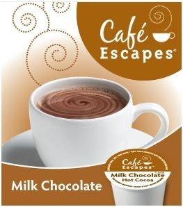 Keurig Cafe Escapes Milk Chocolate Hot Cocoa 54 K-cups Box -Café Escapes®