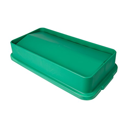 Green Swing Lid for 23 Gallon Slim Containers ()