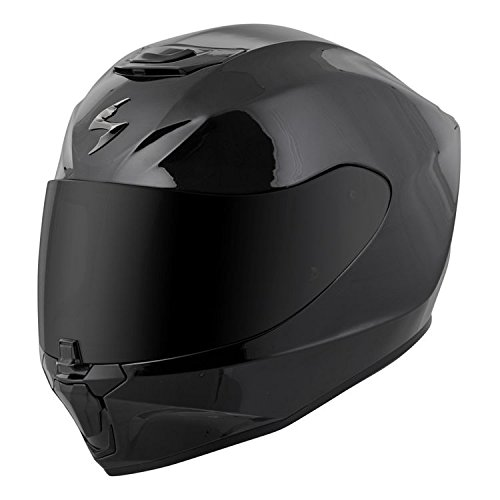Scorpion EXO-R420 Full-Face Solid Helmet Gloss Black 2X-Large(More Size Options)