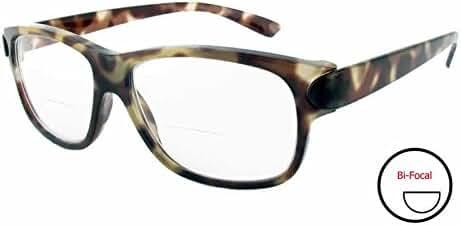 Calabria 4375CB Bi-Focal Reading Glasses w/ Matching Case