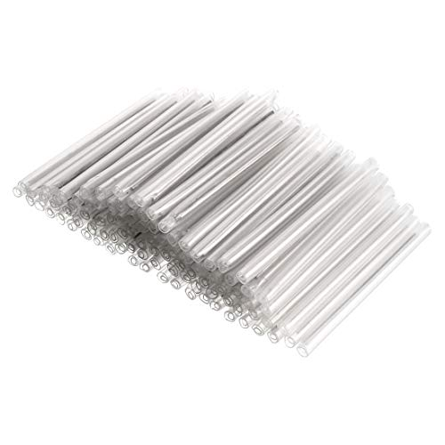 - uxcell 58mm 3.6mmOD Fiber Optic Fusion Splice Tube Protector Sleeves, Clear Heat Shrinkable Tubing- 200pcs