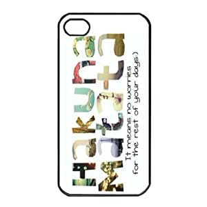 Change Fashion Hakuna Matata Snap On Hard Case Cover Protector For iphone 5 5G 5S