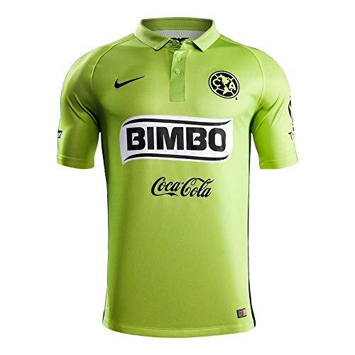 Nike 2014/15 Club América Stadium Third Kids' Soccer Jersey (Blue And Green Nike Indoor Soccer Shoes)